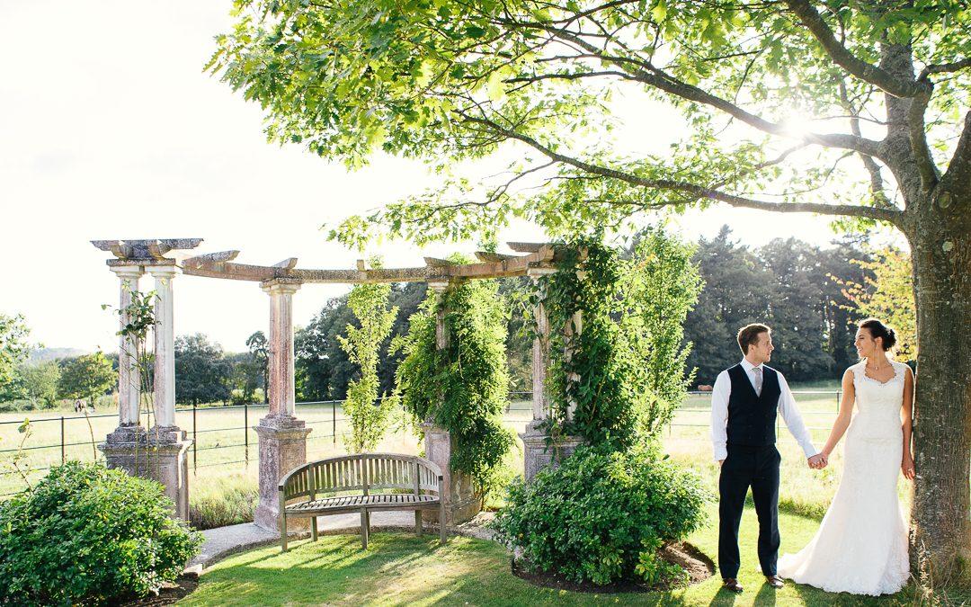 Hill Place wedding Hampshire. Stylish Tipi wedding.