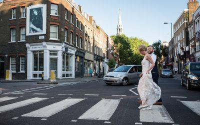 Islington Pie and Mash wedding